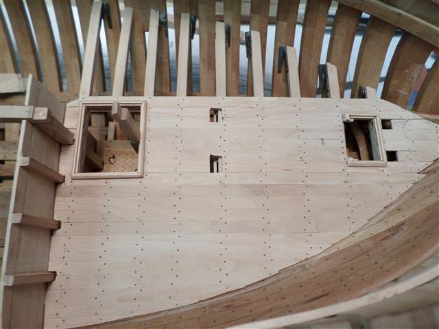 L'AMARANTE corvetta 12 cannoni 1\36 G.DELACROIX - Pagina 8 14211