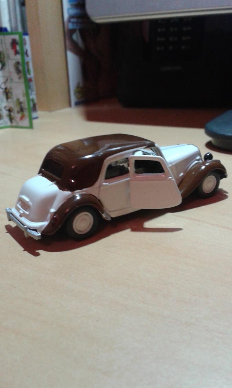 Traction avant Citroën SIKU 20150212