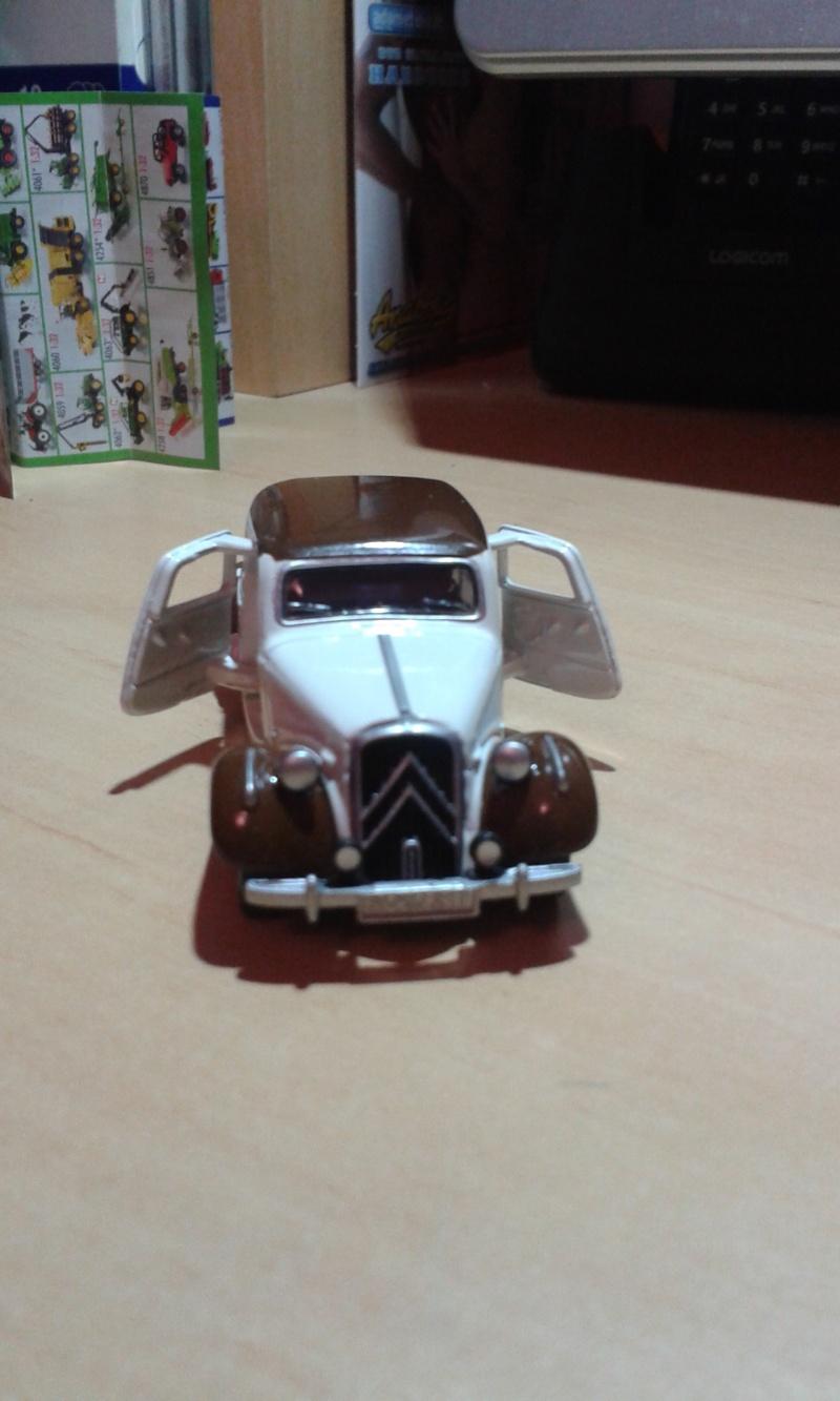 Traction avant Citroën SIKU 20150213