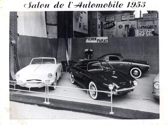 Photo salon auto d'époque Salon510