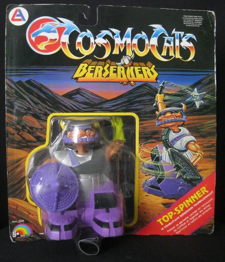 Cosmocats / Thundercats (LJN / ALES) 1985-1987 Topspi10