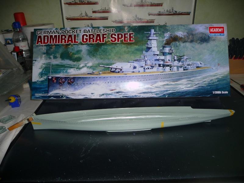 DKM admiral Graf Spee 1/350 academy Photo_14