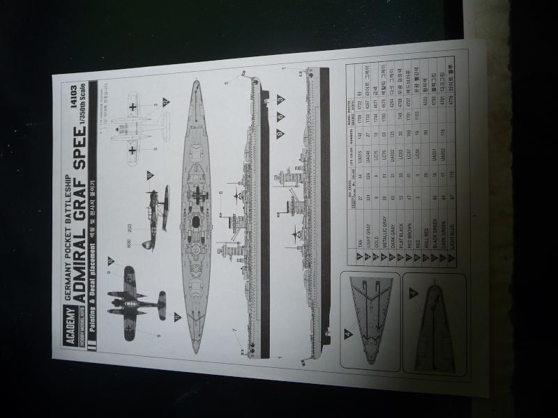 DKM admiral Graf Spee 1/350 academy Photo_20