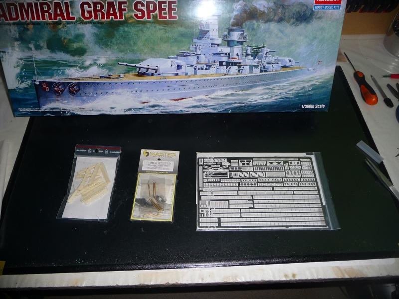 DKM admiral Graf Spee 1/350 academy Photo_21