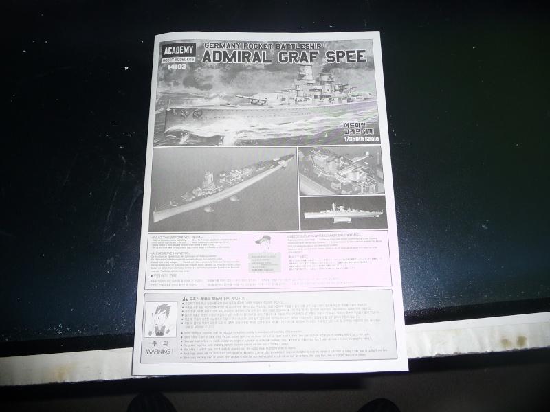 DKM admiral Graf Spee 1/350 academy Photo_22