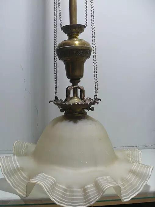 art nouveau or victorian ceiling lamp? Mtdays10