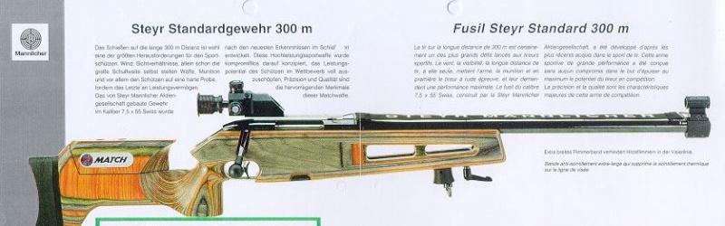 difference entre une carabine 22 libre et une standard? Steyr310