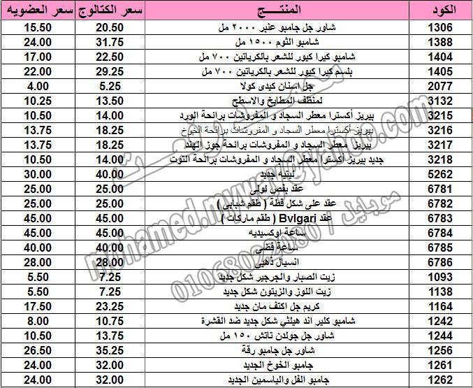 قائمة أسعار منتجات ماي واي في كتالوج مارس 2015  ~~ بسعر الكتالوج ... بسعر العضويه ^_^ 12_o12
