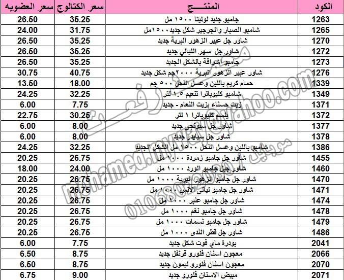 قائمة أسعار منتجات ماي واي في كتالوج مارس 2015  ~~ بسعر الكتالوج ... بسعر العضويه ^_^ 13_o12