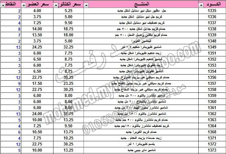 قائمة أسعار منتجات ماي واي في كتالوج يناير 2015 ~~ بسعر الكتالوج ... بسعر العضويه ... عدد النقاط ~~   2_o10