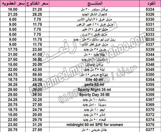 قائمة أسعار منتجات ماي واي في كتالوج مارس 2015  ~~ بسعر الكتالوج ... بسعر العضويه ^_^ 6_o14