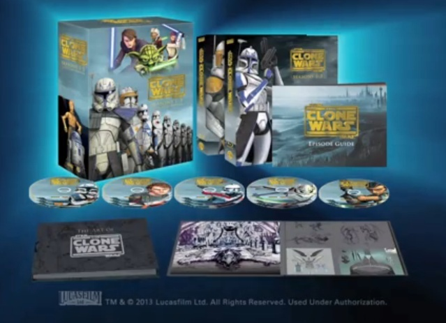 STAR WARS THE CLONE WARS - NEWS - NOUVELLE SAISON - DVD [3] - Page 2 Captur11