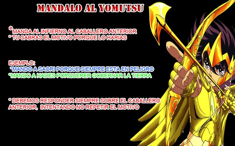 MÁNDALO AL YOMOTSU. Manalo10