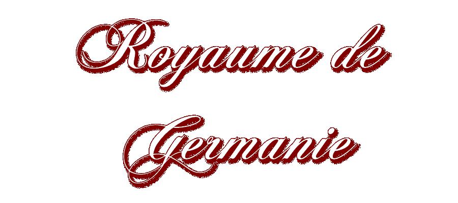 Royaume de Germanie MOH