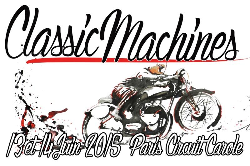 Classic Machines les 13 et 14 juin au circuit Carole Visuel10