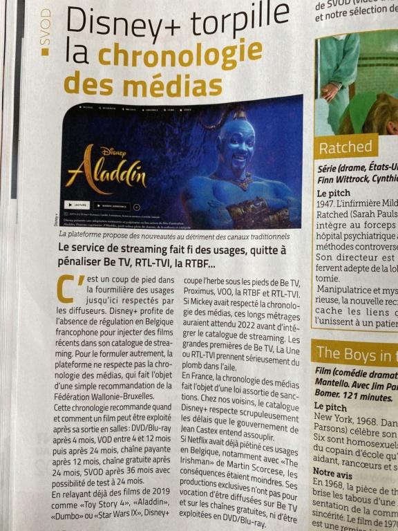 Disney+ en Belgique  2531e110