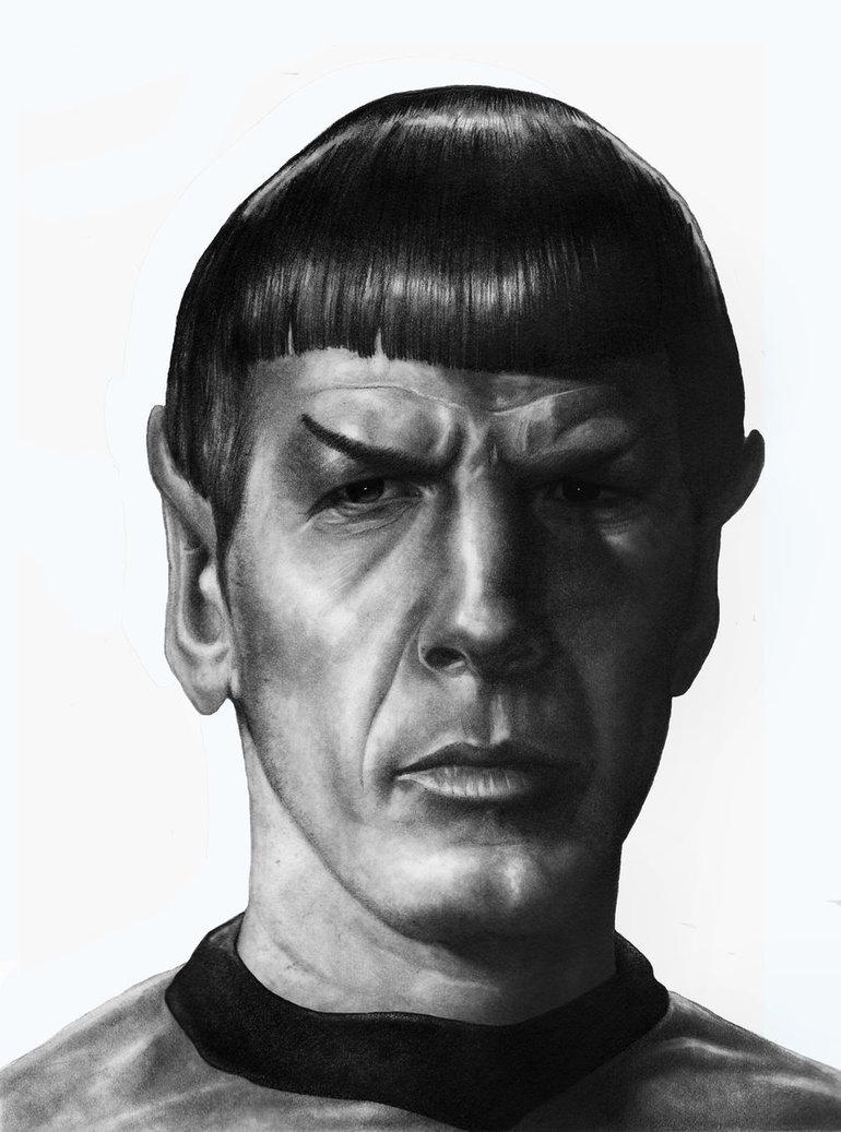 Fan-arts des series de notre enfance - Page 40 Spock_15