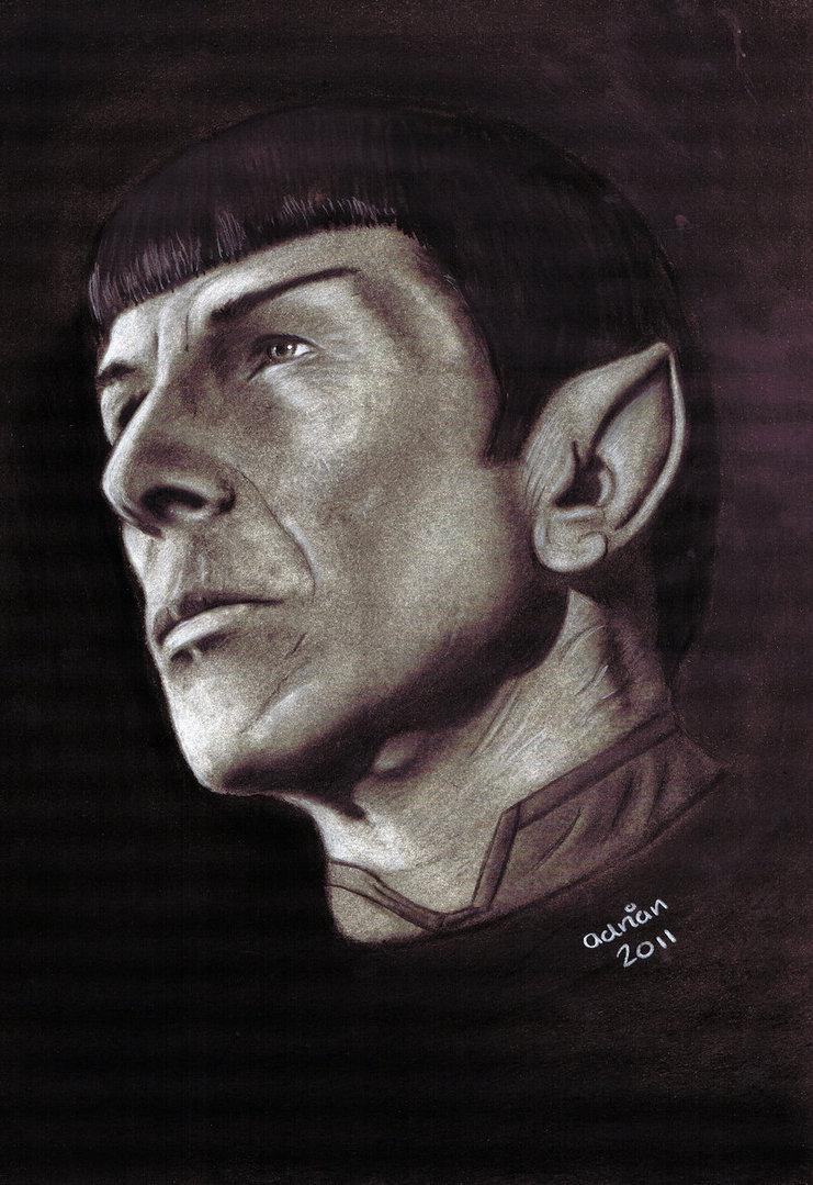 Fan-arts des series de notre enfance - Page 40 Spock_16