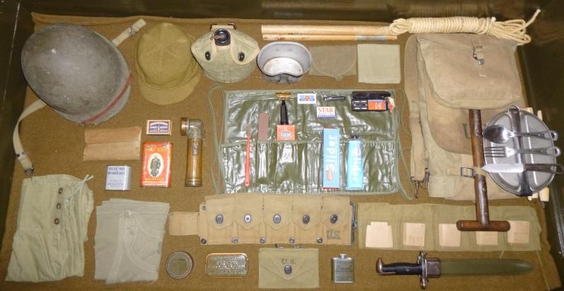Le paquetage du GI. P1010415