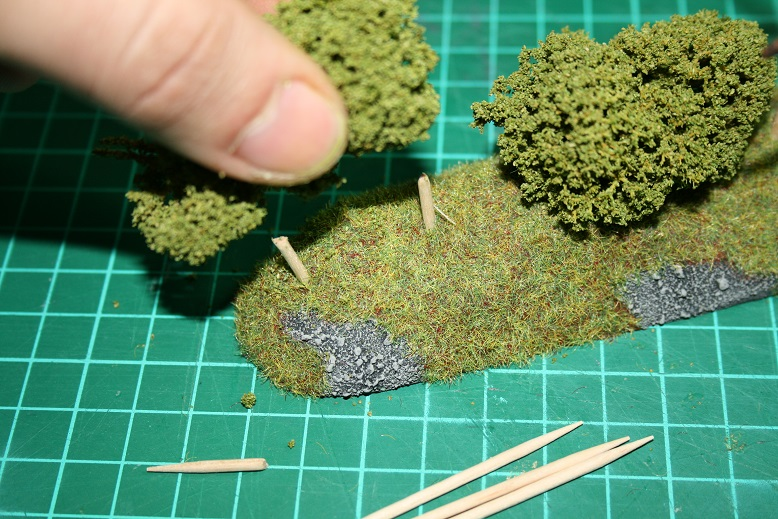 Tutoriel Bocage Normand 28mm 513