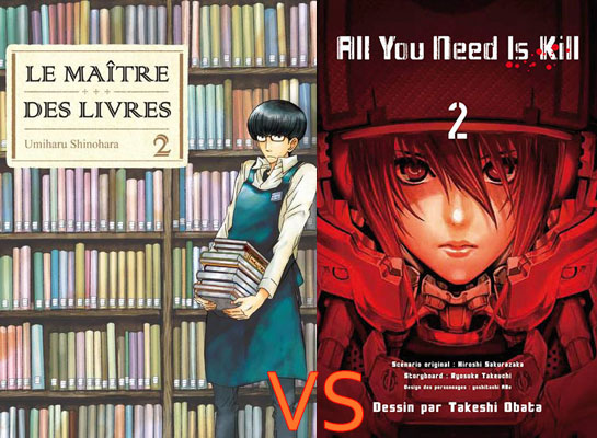[4e manche spé.] Le maître des livres contre All you need is kill 16e-410