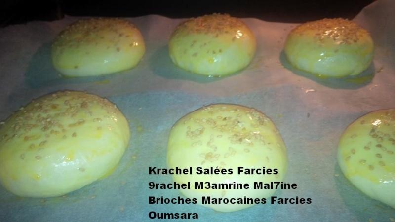 Krachels ou 9rachels marocains ou Brioches marocaines, version salée par Oumsara 10050910