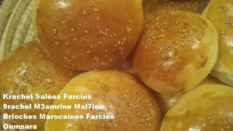 Krachels ou 9rachels marocains ou Brioches marocaines, version salée par Oumsara 99903010