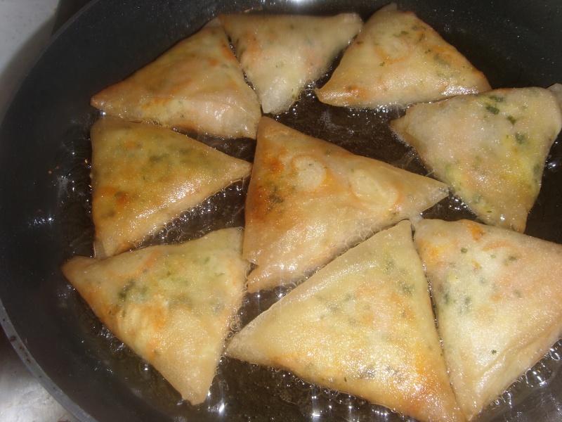 Briwates (Briouates) Marocaines au Surimi et fromage/Briwates bi Surimi w lfarmage/Recette soumise par Oumsara Photo_10