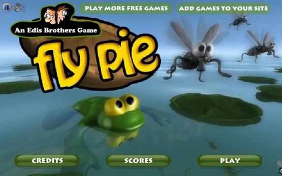 Fly Pie (Лягушка и мухи) Edu_a_10