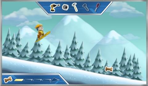 RAW Patrol: Snow Slide ! (Сноубординг) Yzadae10
