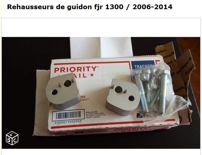 VDS: rehausse de guidon 2006 a 2014 Captur10