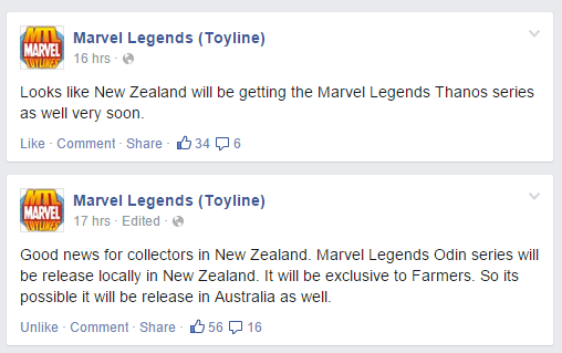 Marvel Legends Thanos and Odin series coming to Oz? Nzml10
