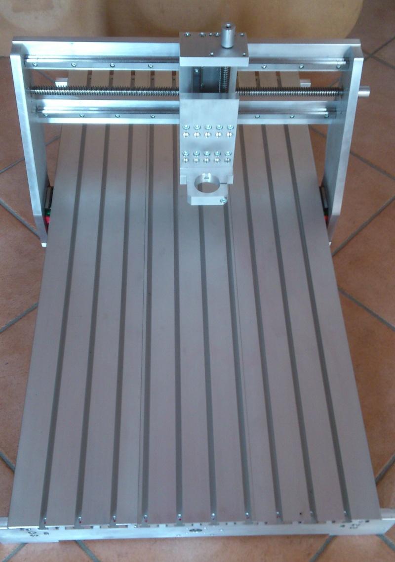 La mia Fresa 4 Assi CNC Homemade Dsc_0412