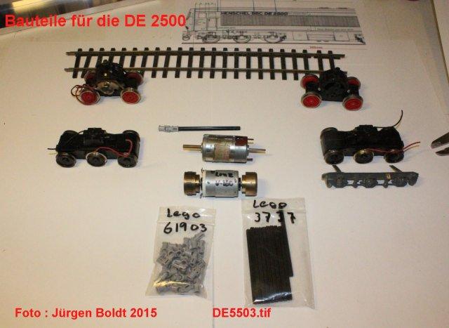 Das dritte Projekt 2014 - Die Henschel-BBC DE2500 Lok in 0 - Seite 2 De550310
