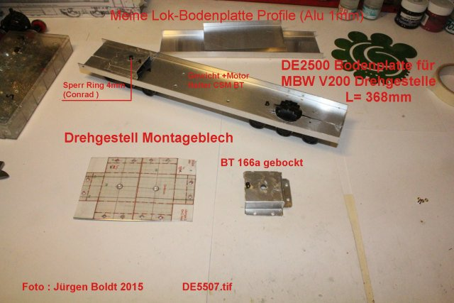 Das dritte Projekt 2014 - Die Henschel-BBC DE2500 Lok in 0 - Seite 2 De550710