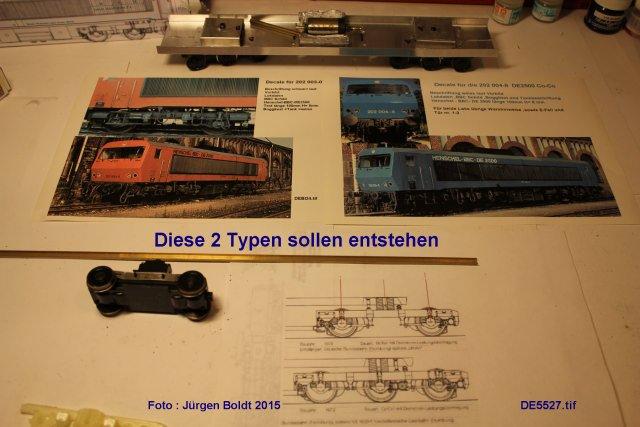 Das dritte Projekt 2014 - Die Henschel-BBC DE2500 Lok in 0 - Seite 2 De552711