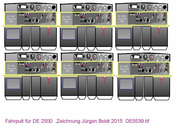 Das dritte Projekt 2014 - Die Henschel-BBC DE2500 Lok in 0 - Seite 2 De553910