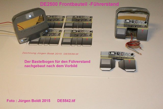 Das dritte Projekt 2014 - Die Henschel-BBC DE2500 Lok in 0 - Seite 2 De554210