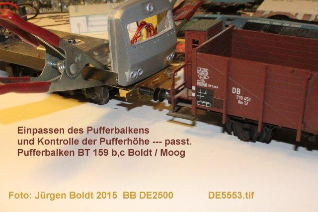 Das dritte Projekt 2014 - Die Henschel-BBC DE2500 Lok in 0 - Seite 2 De555310