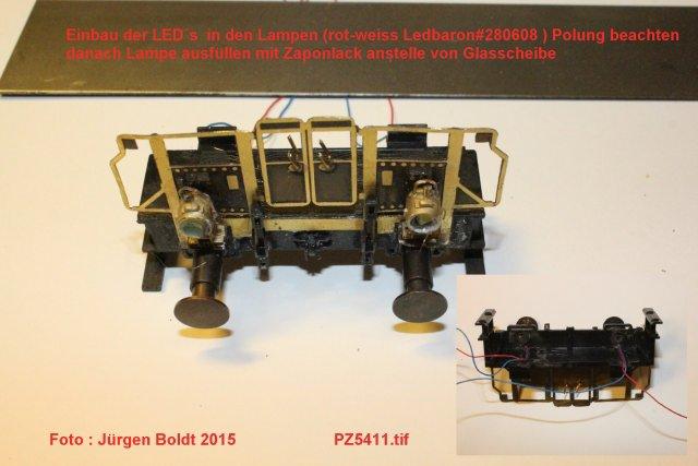"""Projekt 6-2014 - Der Pendelzug """"Anno dazumal"""" Pz541110"""
