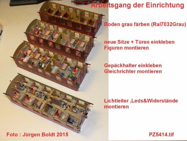 """Projekt 6-2014 - Der Pendelzug """"Anno dazumal"""" Pz541410"""
