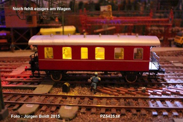 """Projekt 6-2014 - Der Pendelzug """"Anno dazumal"""" Pz542510"""