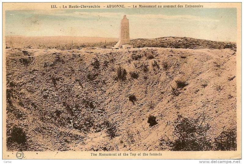 """Vestiges de la """"guerre des mines"""" (Première Guerre Mondiale) visibles dans Google Earth 426_0010"""