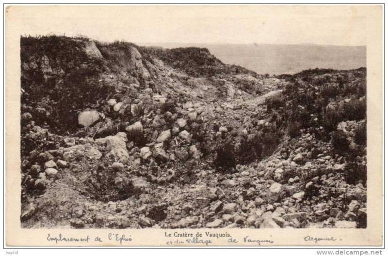 """Vestiges de la """"guerre des mines"""" (Première Guerre Mondiale) visibles dans Google Earth 806_0010"""