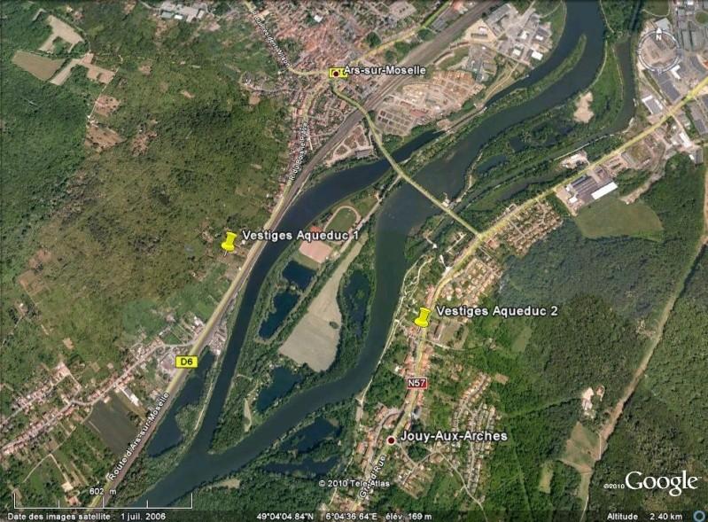 Antiquités romaines sous l'oeil de Google Earth - Page 2 Aquedu10