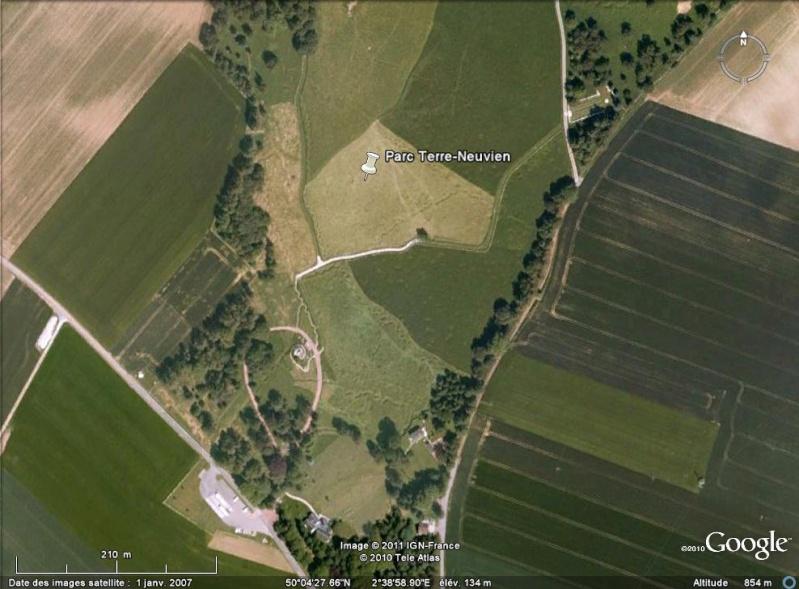 """Vestiges de la """"guerre des mines"""" (Première Guerre Mondiale) visibles dans Google Earth - Page 2 Hrmc_012"""