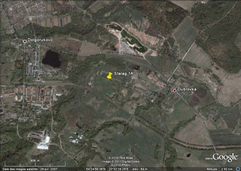 Bagnes et Camps d'internement / déportation découverts avec Google Earth - Page 3 Stalag10