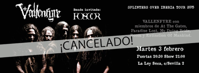 Zaragoza - La Ley Seca (Spain) February 03 - 2015   Cancelled Cancel10
