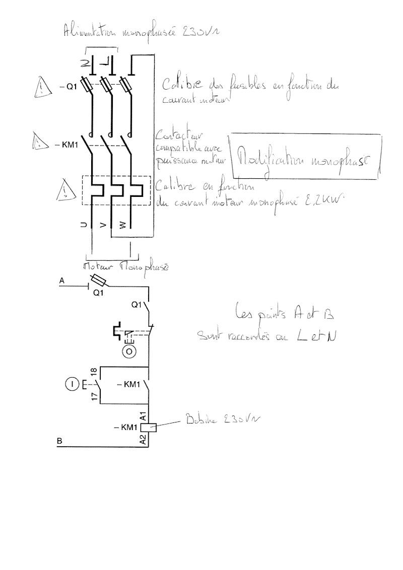 branchement moteur monophasé Th_00011