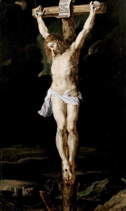 Cristo crucificado, de Rubens - melódico- Cristo10